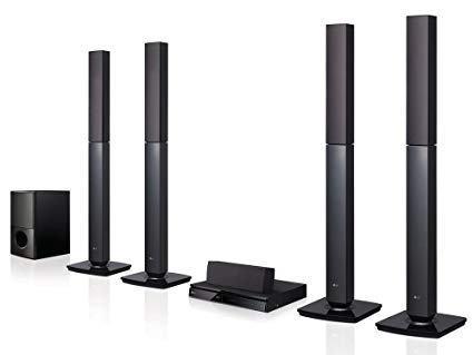LG LHD657 Bluetooth Multi Region Home Theatre Speaker System